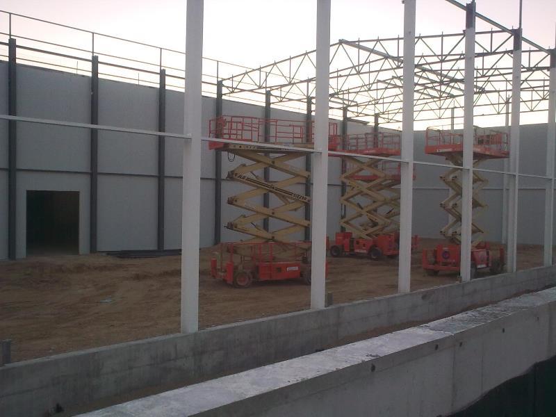 CONSTRUCCIÓN NAVE INDUSTRIAL EN JIJONA PARA HELBERICA