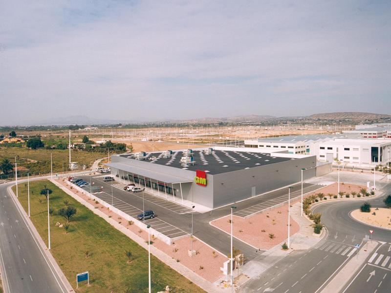 CONSTRUCCIÓN DE NAVE INDUSTRIAL GROSS MERCAT TORRELLANO (ELCHE)
