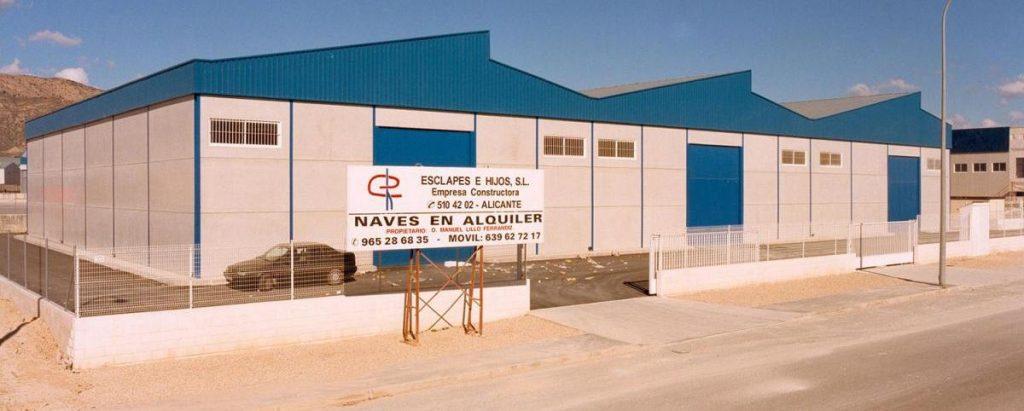 CONSTRUCCIÓN DE NAVES INDUSTRIALES  LAS ATALAYAS, ALICANTE