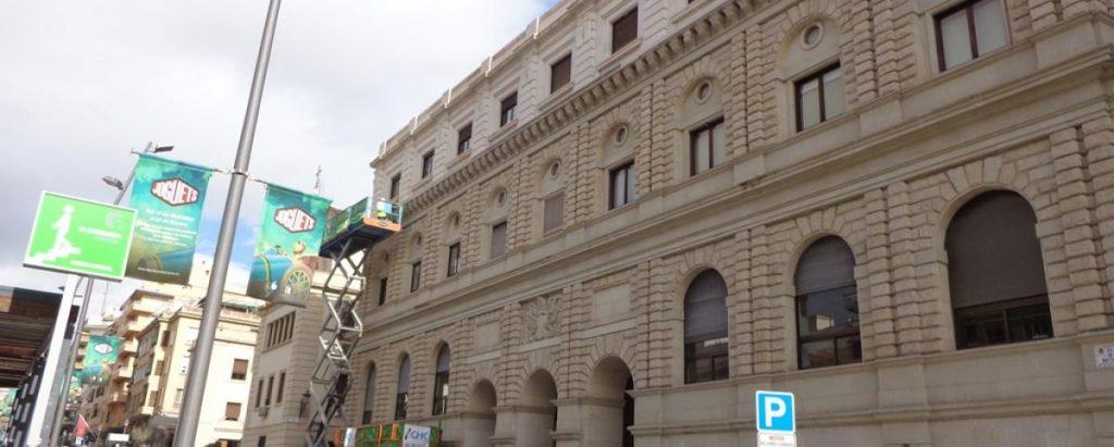 Rehabilitación Fachada edificio Agencia Tributaria en Alicante