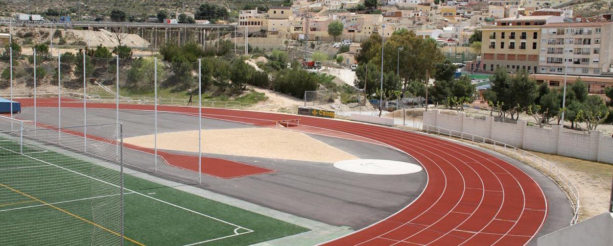 Pista de atletismo El Barxell, Petrel