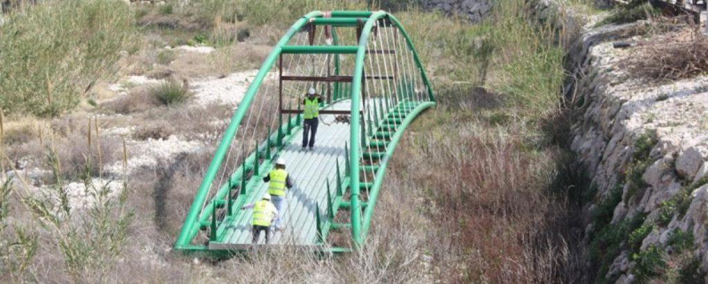 CONSTRUCCIÓN PASARELA PEATONAL BENIARBEIG, ALICANTE