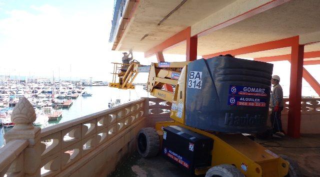 Reparación Forjado Edificio La Isleta Esclapes