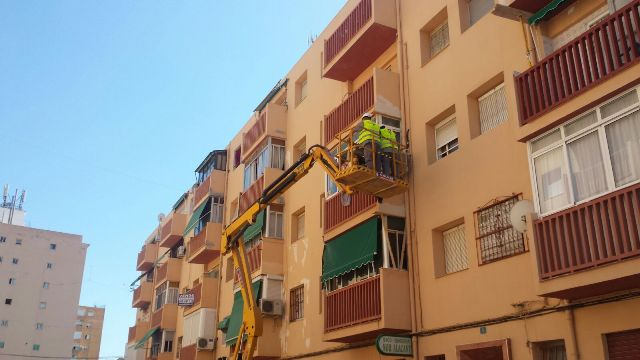 REHABILITACIÓN DE FACHADA EN CALLE GANDIA – ALICANTE