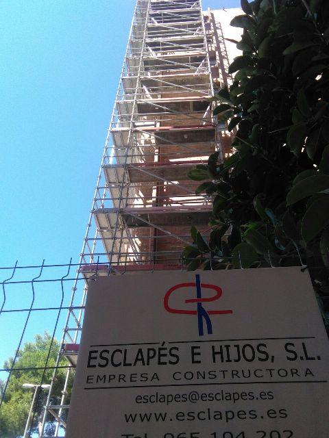 REHABILITACIÓN DE FACHADA EDIFICIO EL PALMERAL ALICANTE