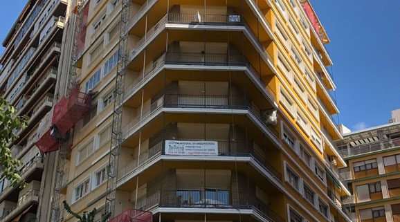 Edificio Calle Zaragoza Alicante Esclapes