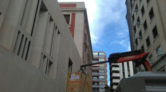 MUDANZAS EN EL BANCO DE ESPAÑA ALICANTE - ESCLAPES